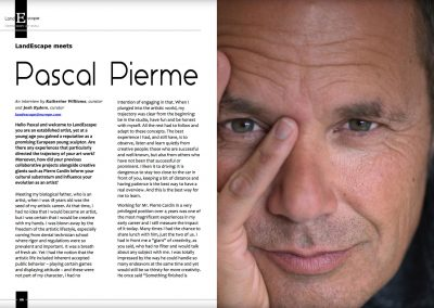 The Career of Artist Pascal Pierme